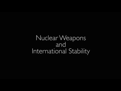 Introduction: Nuclear Weapons and International Stability