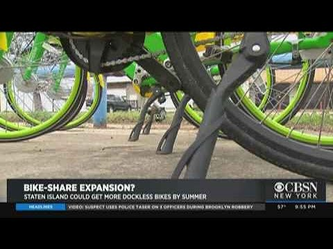 Bike Share Could Expand On Staten Island