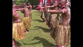 SALUT !!!! cara warga Papua sambut HUT Kemerdekaan RI