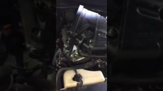 Toyota Prado 2004 1GR-FE engine, knocking noise, FAULTY vvti unit.