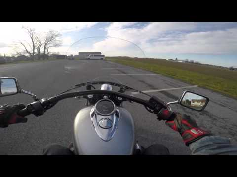 2013 used Honda 1300 Interstate test drive review