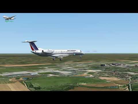 Embraer ERJ 145MP Air France F GUAM  LFLL to LFPG