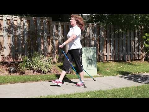 The Nordic Pole Walking Technique by Nordixx Canada