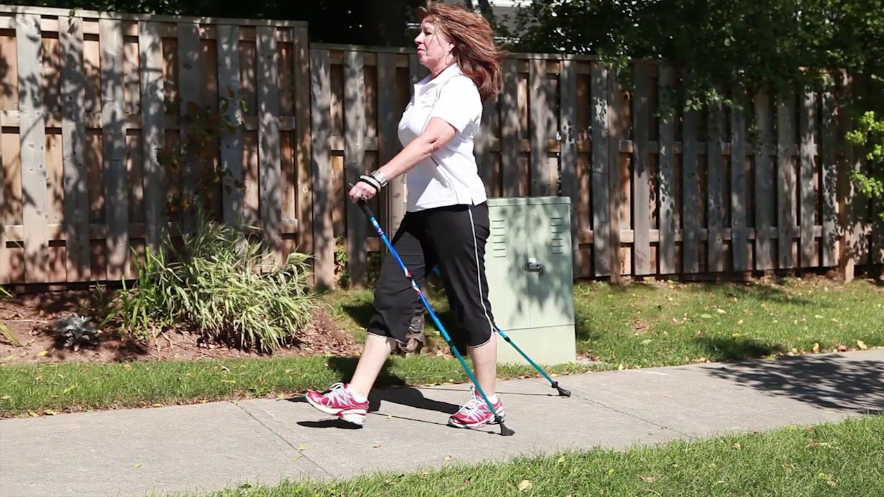 Exerstriding vs. Nordic Walking Techniques advise
