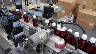 Custom P250 Labelling Machine | Pharmaceutical Specification