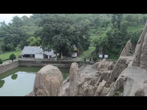 Masroor rock cut temple in India - Presented by www.holidaytravel.co