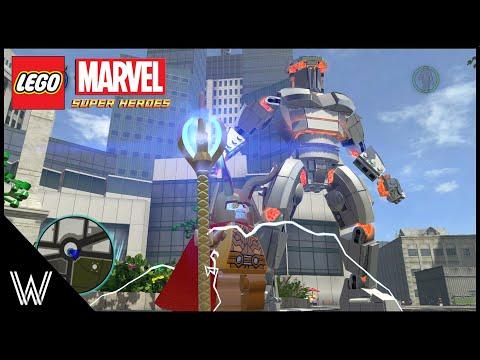 LEGO Marvel Super Heroes - Destroyer & Armoured Odin [MOD]