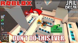 Why you Shouldn't Grind in Large Server | Roblox Jailbreak