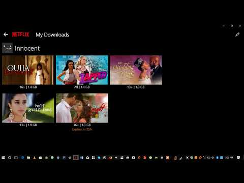 How To Locate Netflix Downloaded Movies In Windows.