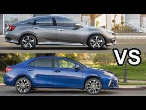 Comparison Between Honda Civic 2018 Vs Toyota Corolla In Depth All About Cars