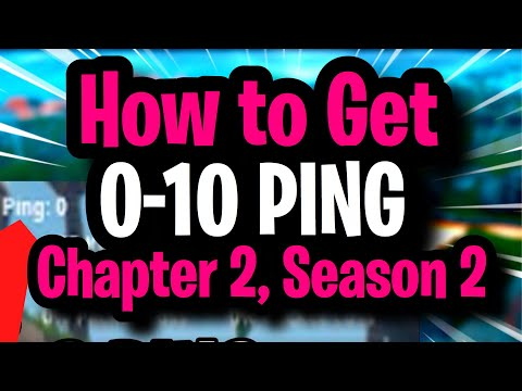 How To LOWER YOUR PING (Get 0-10 Ping) Fortnite Network Optimization For Best Connection No Lag!