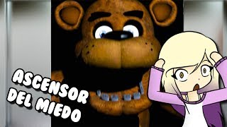 FREDDY IN THE ELEVATOR OF TERROR Roblox The Scary Elevator in Spanish