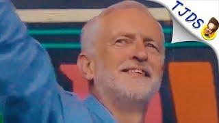 Jeremy Corbyn Delivers Inspiring Speech & Crowd Goes Wild!