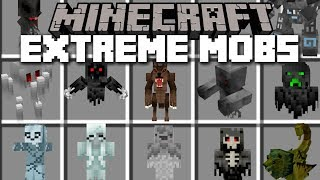 Minecraft EXTREME MOBS MOD / FIGHT AND SURVIVE THE EVIL LAB EXPERIMENTS!! Minecraft