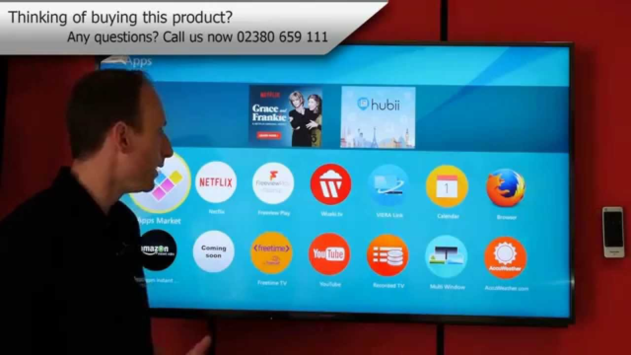 Panasonic Firefox Operating System for 2015 TV's