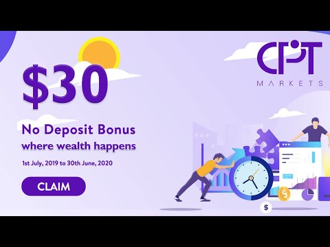 $30 No Deposit Bonus From July 2019 To June 2020