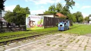 Chorzów Kolejka wąskotorowa WPKiW parkowa (2011.07.23) + zdjęcia wnętrza