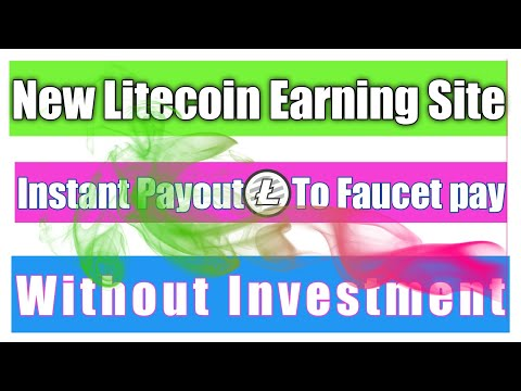 Earn Free Litecoin Without Investment/Free LTC Earn/how to earn cryptocurrency