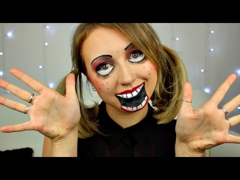 Haunted Porcelain Doll | Halloween Makeup & Costume
