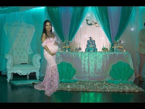 Zena's Mermaid Baby Shower   Best Baby Shower Game