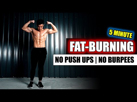 [Level 3] All Standing Fat-burning Workout (No Push Ups, No Burpees, No Plank)