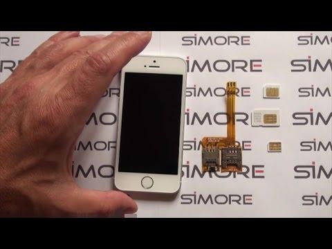 Iphone Se Comment Mettre 3 Cartes Sim Dans Un Iphone Se X Triple Se Adaptateur Triple Sim Youtube