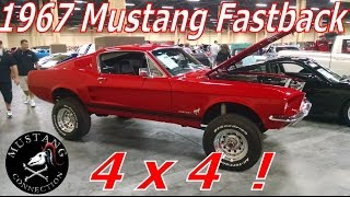 1967 Mustang Fastback 4x4 ! Barrett Jackson Las Vegas 2015 Mustang Connection