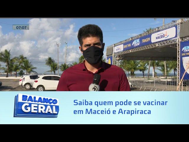 Imunização: Quem pode se vacinar contra a covid-19 em Maceió e Arapiraca