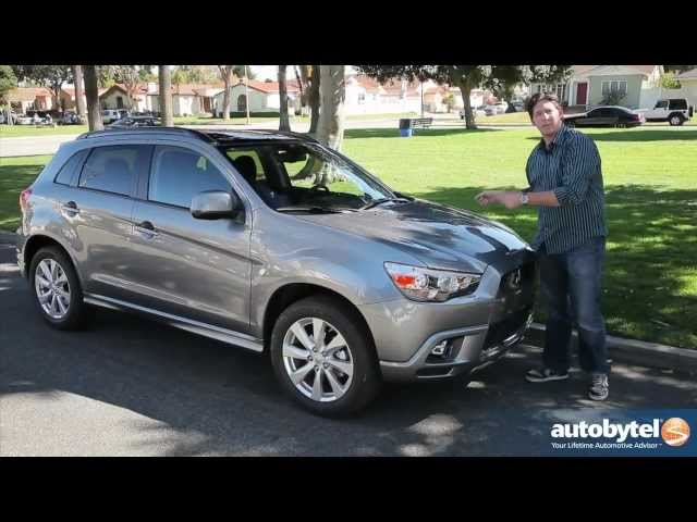 2012 Mitsubishi Outlander Sport Test Drive U0026 Crossover SUV Review