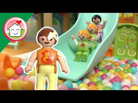 ألعاب جديدة في حضانة رؤى - عائلة عمر - جنه ورؤى