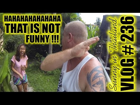 That is NOT funny :(    -  Sunny's Thailand Vlog 236