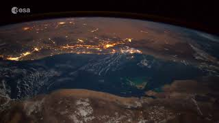 A meteoroid as seen from the Space Station… make a wish!