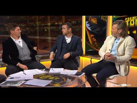 Who Are The Biggest Hard Men In Football    Gerrard, Keown & Robbie discuss
