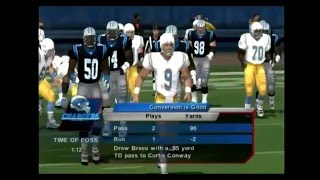 NFL GAMEDAY 2003/ CHARGERS vs PANTHERS  [PS2] [HD]