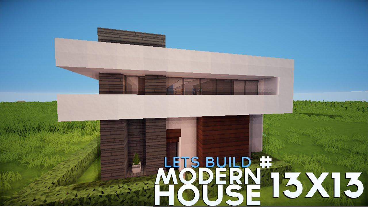 Plot house tutorial 13x13 modern house youtube for Modern house tutorial