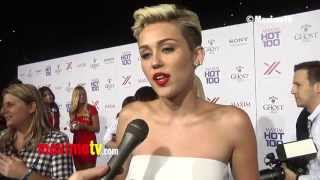 Miley Cyrus on Being Number 1 on 2013 MAXIM TOP 100 World