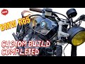 Bmw R65 Custom build - Picking up bike from the mechanic.