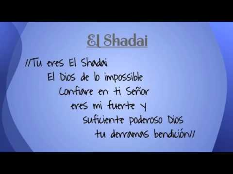 El Shaddai   New Wine Letra