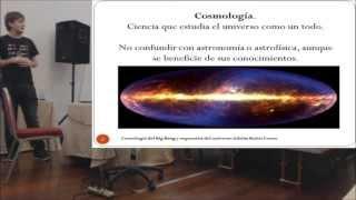 Cronología del Big Bang  Charla de Adrián Baños