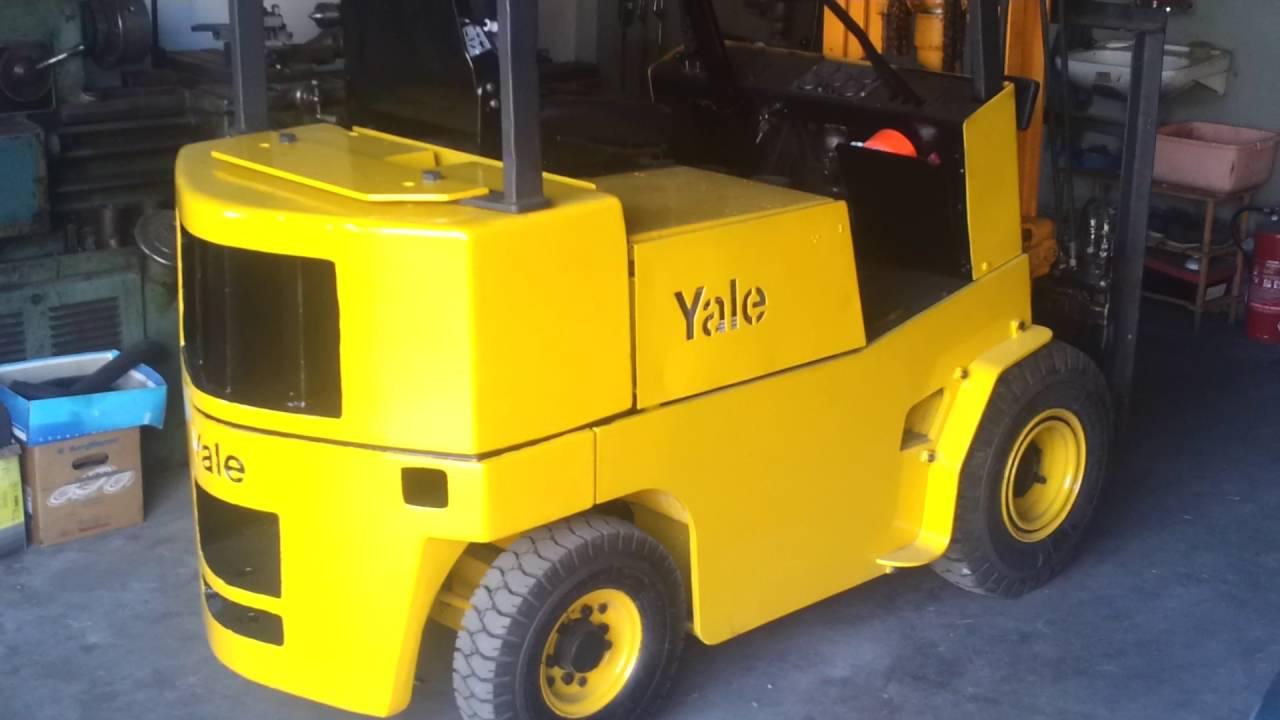 Niewiarygodnie Wózek Widłowy Yale GLP032 - YouTube UB69
