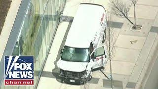 Van Strikes Pedestrians In Toronto Driver In Custody