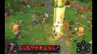 Heroes of might and magic 5 - Финал битва. Невероятная сложность. Демон Vs Эльф
