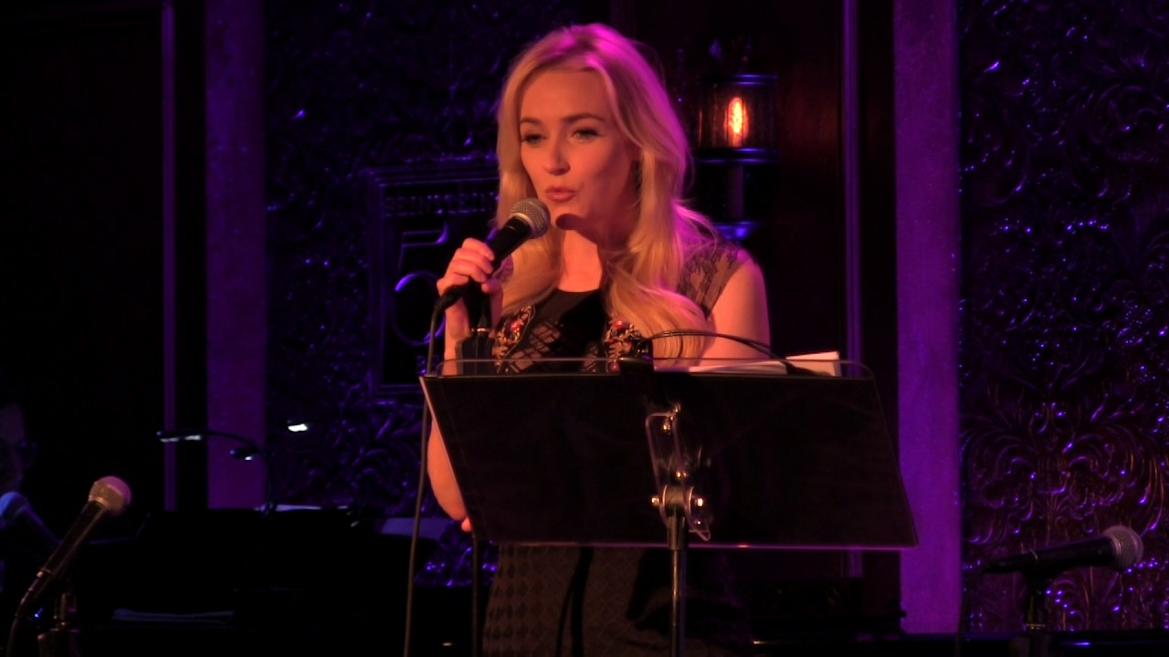 Betsy Wolfe Hold On The Secret Garden Lucy Simon Marsha Norman Youtube