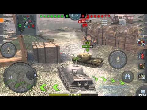 World of Tanks Blitz: Lowe Gameplay