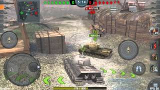 World of Tanks Blitz: Lowe Gameplay