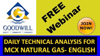 MCX NATURAL GAS TRADING TECHNICAL ANALYSIS APRIL 18 2017 IN ENGLISH