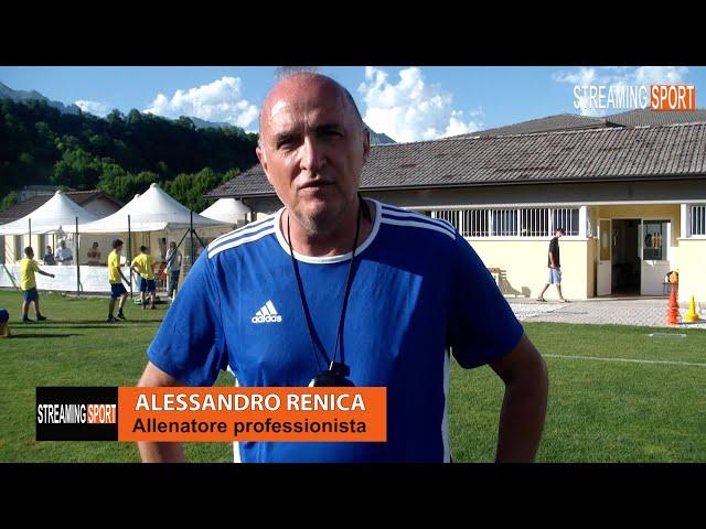 Alessandro Renica allenatore professionista Giovedì Mugnai 24 giugno 2021