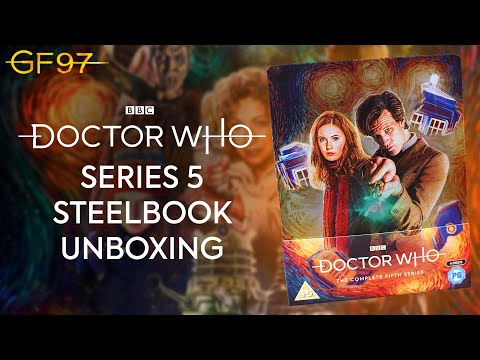 Doctor Who: Series 5 Steelbook Unboxing