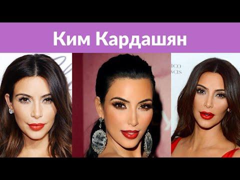 Ким Кардашьян продемонстрировала свои формы в полупрозрачном платье