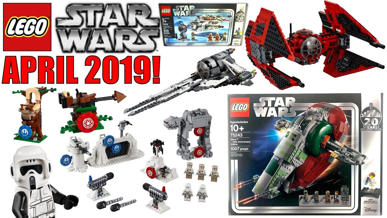Lego Star Wars Sets 2019